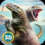 Komodo Dragon Lizard Simulator Icon