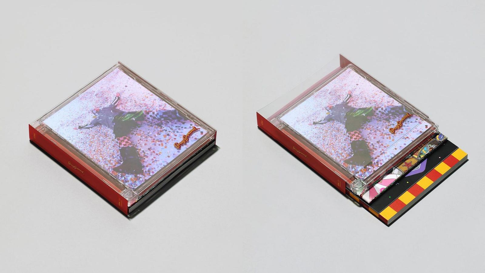 GRAY GRAYGROUND Physical album