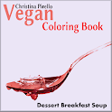 Coloring Book Vegan Soups N Br icon