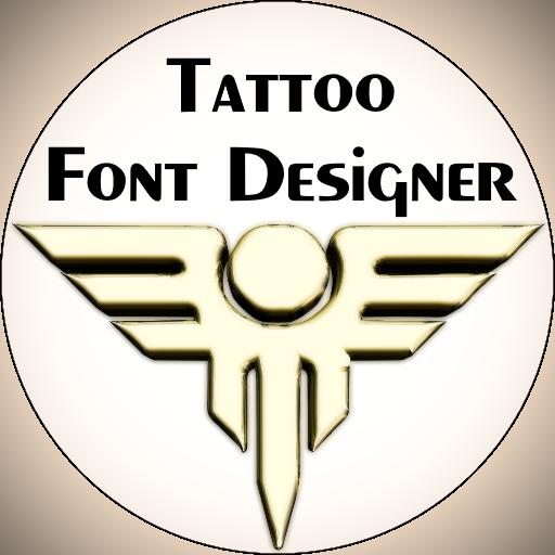Tattoo Font Designer ❤️ icon