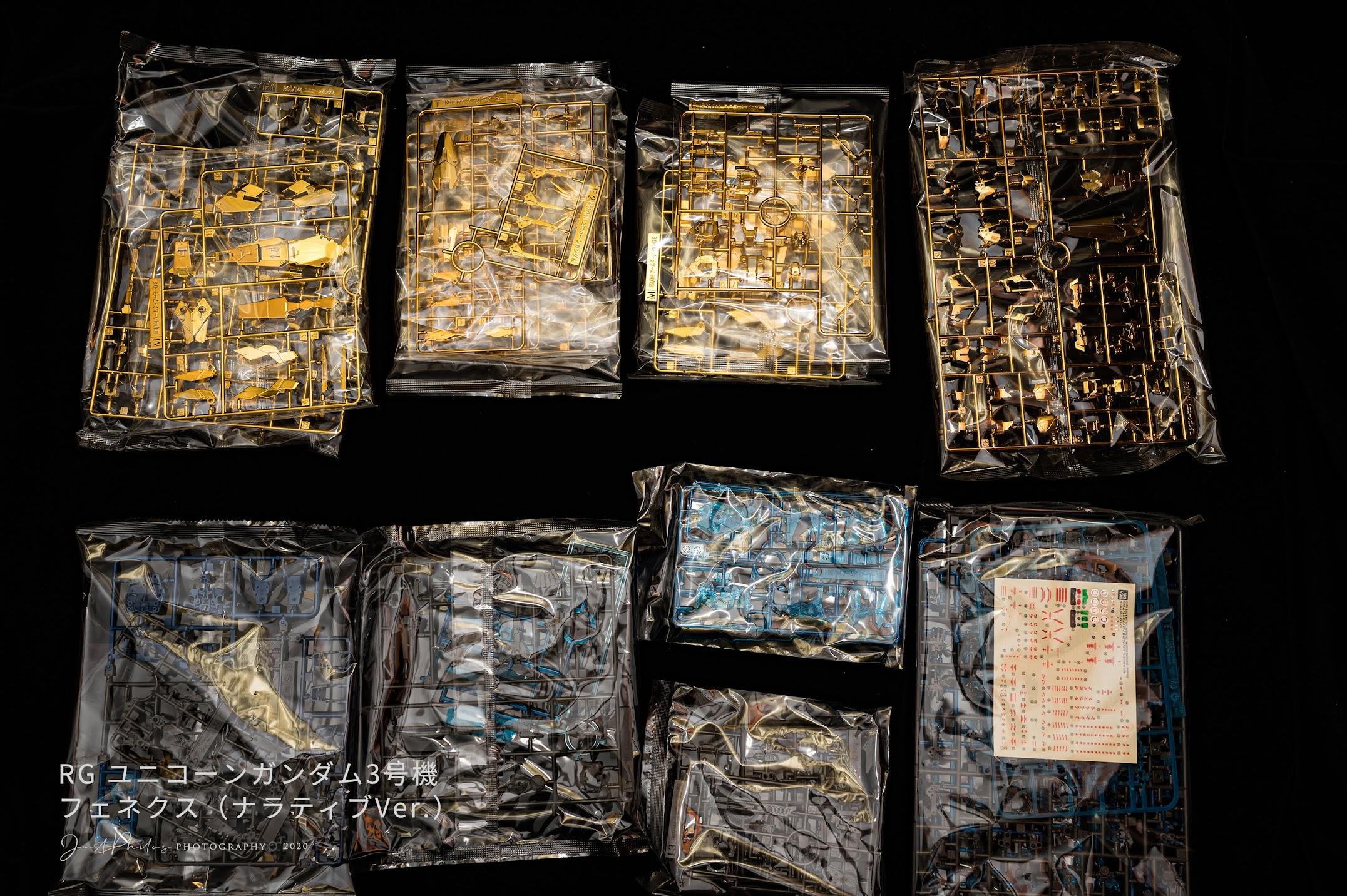 全部一共有15片零件,多數是沿用獨角獸系列的骨架,另外多加兩個DE大盾的零件,組裝起來也是需要花費一定的時間。