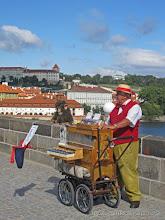 Photo: Organ Grinder, Charles Bridge, Prague