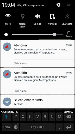 Chile Alert 0.1.7b screenshots 8