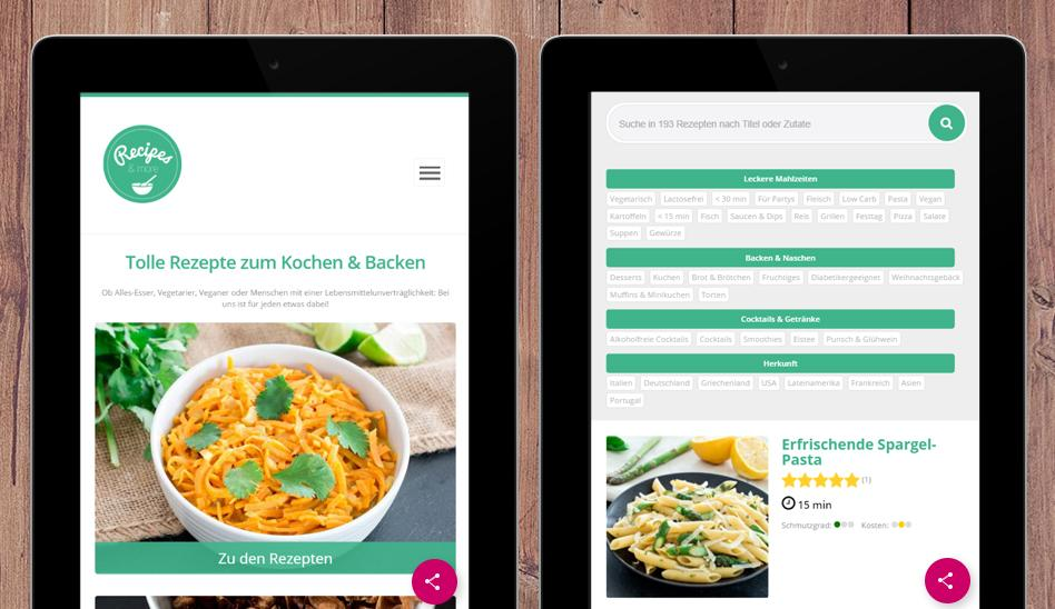 Recipes & more - Rezepte – Screenshot