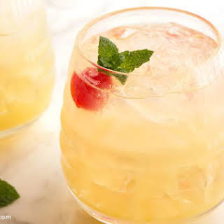 Pineapple Vodka Cocktail.