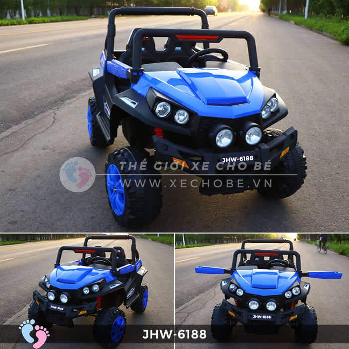 Xe ô tô điện cho bé 4 động cơ JHW-6188 4