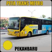 Peta Trans Metro Pekanbaru
