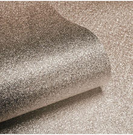 Sparkle Glitter Tapet Roséguld 701379