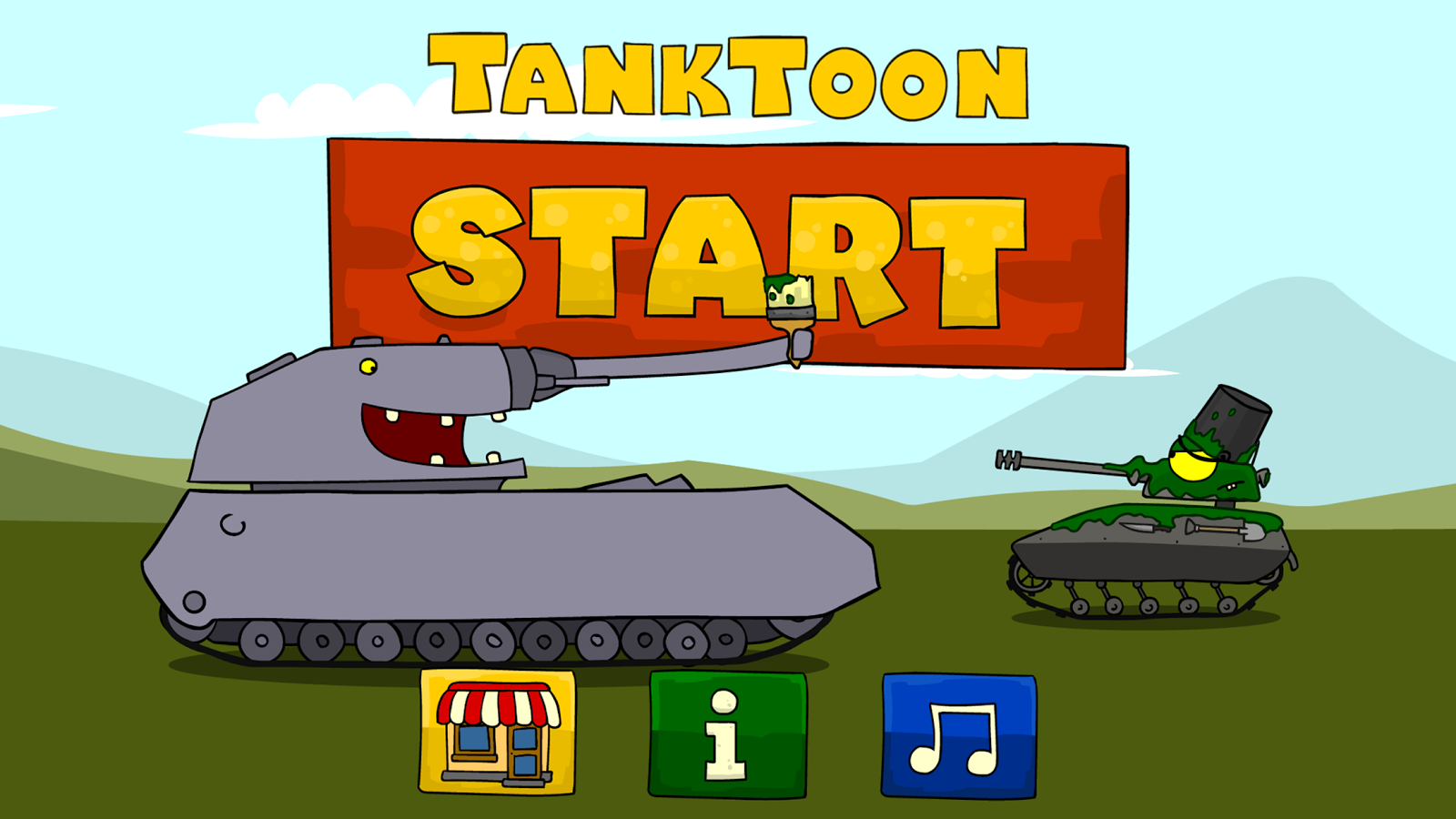 Tanktoon RanZar Coloring- screenshot