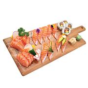 73. Large Salmon Sushi & Sashimi