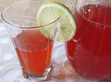 Homestyle Strawberry Mango Juice (Kompot)