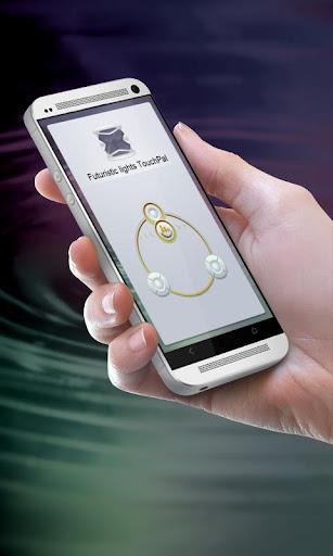 未來派燈 TouchPal 主題