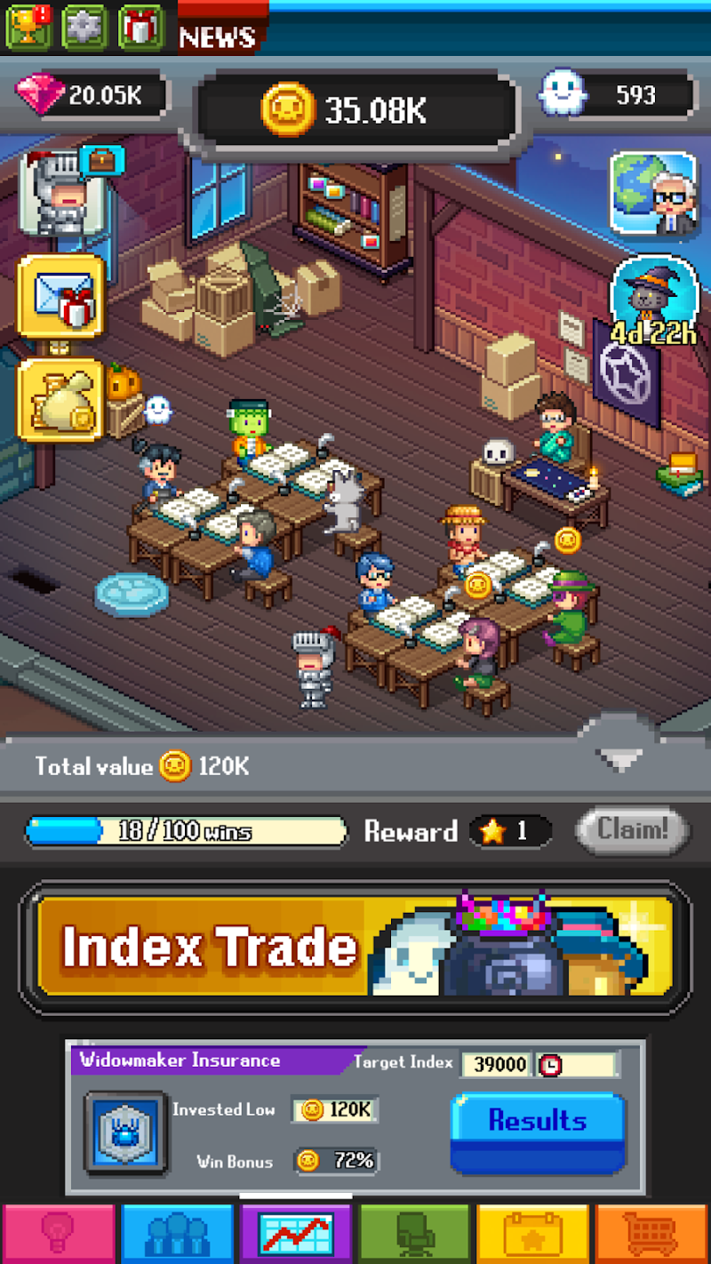 Tap Tap Trillionaire - Business Simulator Screenshot 5