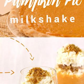 Make a Pumpkin Pie Milkshake