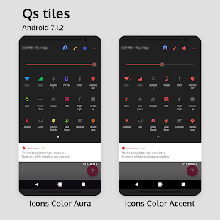 Aura - Substratum Theme Screenshot