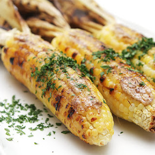 Corn On The Cob With Sumac Butter.
