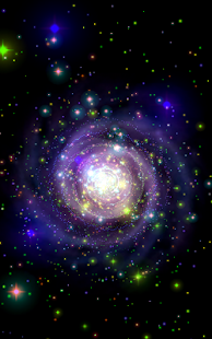 Galaxy Music Visualizer Pro Screenshot