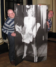"Photo: Delighted owners of the ""Marilyn"" screen auctioned at the Celebration"