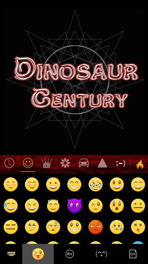 Dinosaur-Kika-Keyboard-Theme 7