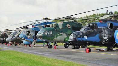 Photo: Śmigłowce na Air Show Radom