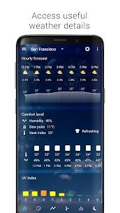 Transparent clock weather Apk (Ad-free) 3