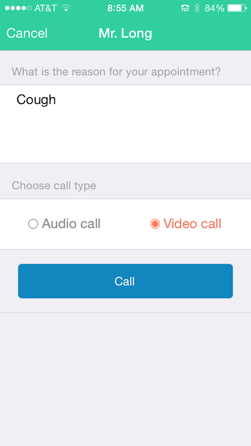 MyOnCallDoc:Talk to a Doctor- screenshot