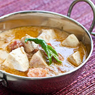 Indian Fish Coconut Curry.