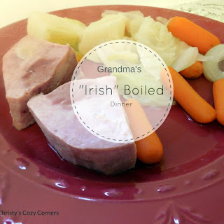 "Grandma's ""Irish"" Boiled Dinner."