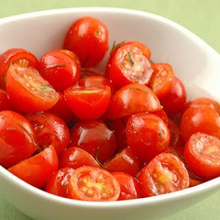 Spring Grape Tomato Salad