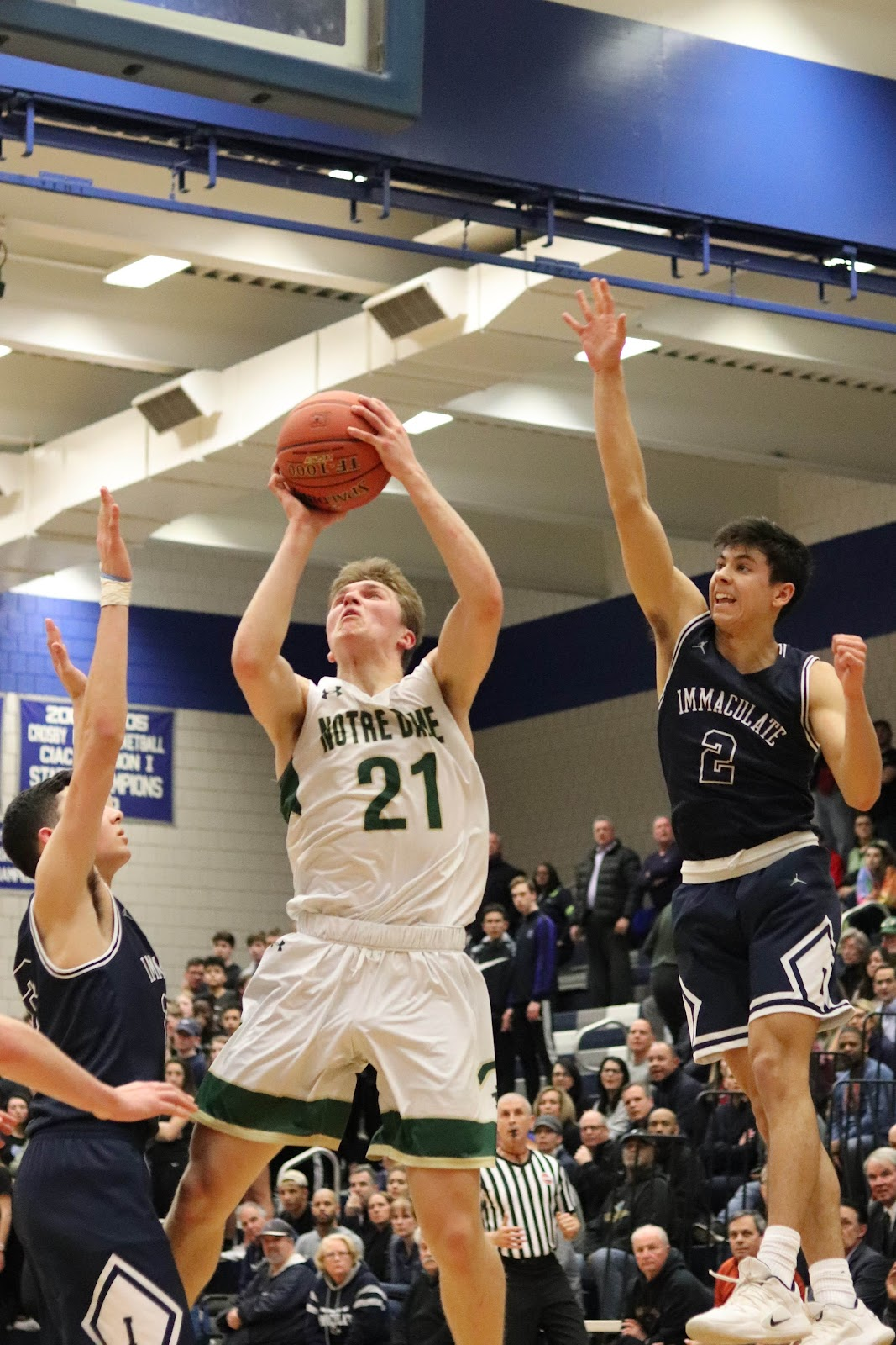 6553a2cfa577 Hoops Season Comes to Close in Quarterfinal Loss to Immaculate ...