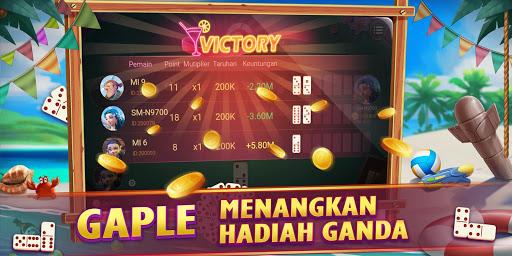 Domino Gaple QiuQiu 99 Poker Game Online Free Koin apkdebit screenshots 4