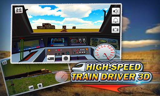 High-Speed Train Driver 3D