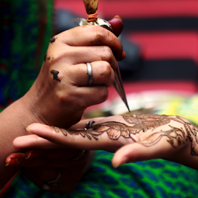 Wedding ceremony by Anurag Bhateja - Wedding Ceremony ( mehndi, hina, hindu wedding, india, ceremony, bride )