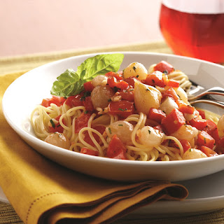Speedy Fresh Tomato Sauce with Pearl Onions