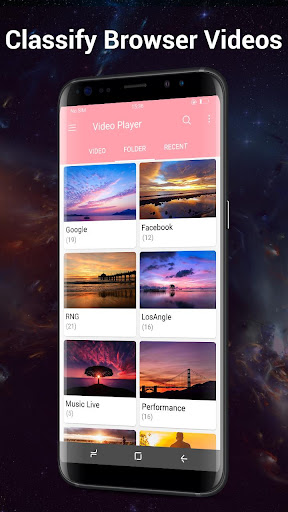 Foto do HD Video Player para Android