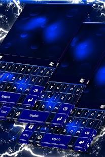 Purple Dream Keyboard Theme - náhled