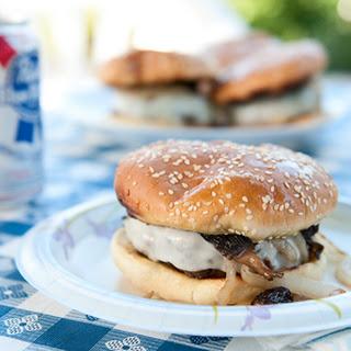 Venison And Mushroom Burgers.