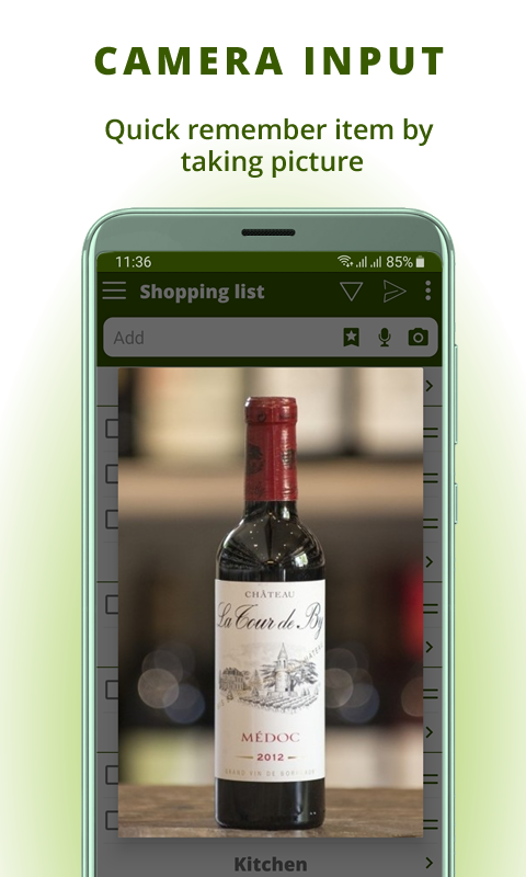 Grocery list, card coupon wallet: BigBag Pro Screenshot 4