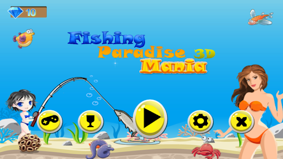 Fishing paradise 3d mania android apps on google play for Fish mania game