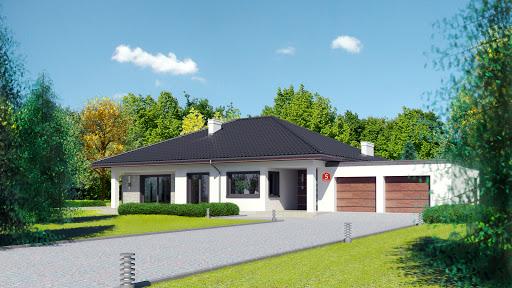 projekt Dom przy Makowej 5 bis