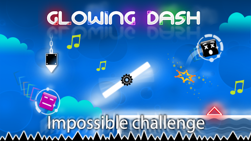 Glowing Dash