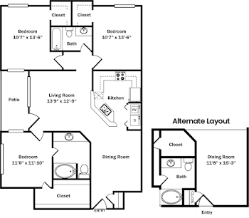 Go to Oxford Alt  Floorplan page.