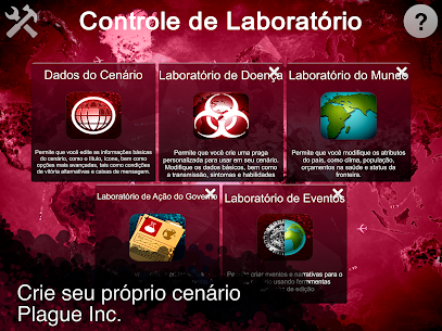 Plague Inc: Criador de Cenário 1.2.1 Mod Apk Download 7
