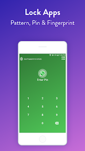 AppLock : Fingerprint & Pin Screenshot