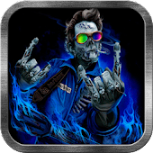 Rock Zombie Live Wallpaper