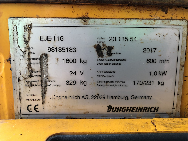 Picture of a JUNGHEINRICH EJE 116