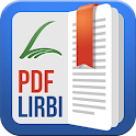 PRO PDF +Book Reader Lirbi icon
