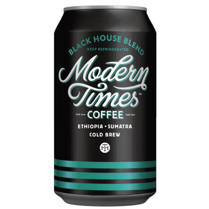 Logo for Modern Times Black House Cold Brewed Coffee
