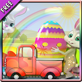 Easter Eggs Delivery-Bunny