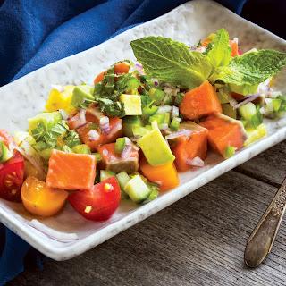Ceviche Fruit Salad.